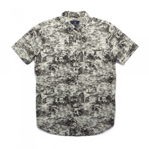 Roark Mekong Short Sleeve Button Down Shirt