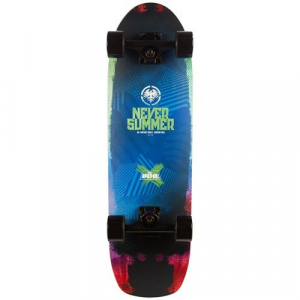 Never Summer Dime Cruiser Skateboard Complete