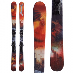 Armada x Metallica Invictus 95ti Skis + Tyrolia Attack 13 Demo Bindings 2016