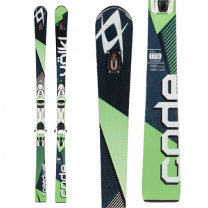 Volkl Code SW Skis + rMotion2 12.0 Bindings 2016