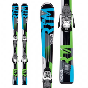 Volkl RTM Jr Skis + 3Motion Jr 7.0 Bindings Boys' 2017