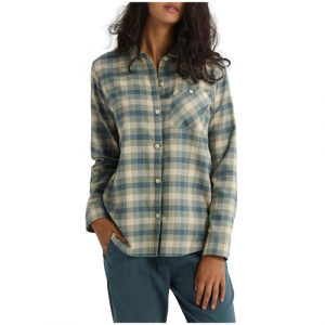 Burton Grace Long Sleeve Woven Flannel Women's