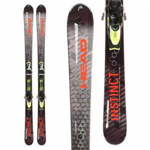 Head Power Instinct SW Ti Pro Skis + Tyrolia PRX 12 Demo Bindings 2016