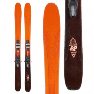 K2 Pinnacle 105 Skis + Marker Griffon 110 Demo Bindings 2016