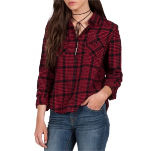 Volcom Lodge Life Long Sleeve Flannel Women's