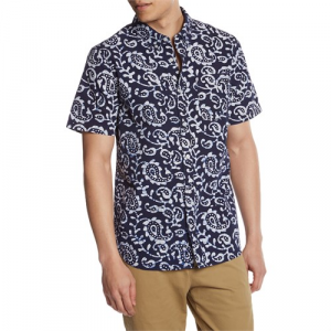 Roark Sanjay Short Sleeve Button Down Shirt