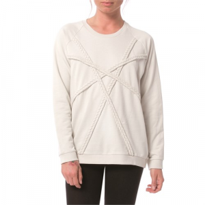 Nikita Plaited Crewneck Sweatshirt Women's