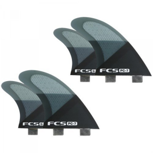 FCS PC 7 Large Tri Fin Set