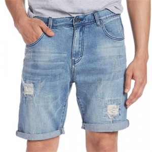 Globe Select Ripped Denim Shorts