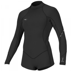 O'Neill 2/1mm Bahia Long Sleeve Short Spring Wetsuit Women's
