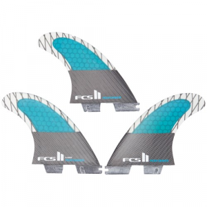 FCS II Performer PC Carbon X Large Tri Fin Set