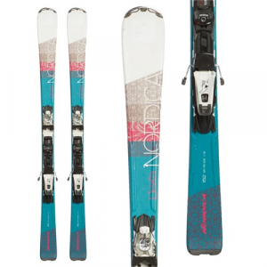 Nordica Elexa EVO Skis + ADV P.R. EVO Bindings Women's Used 2016