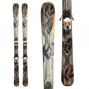 K2 AMP Rictor 82 XTi Skis + MXC 12 Bindings Used 2015