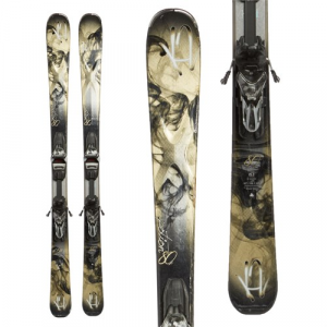 K2 Potion 80x Skis + ER3 10 TC Bindings Women's Used 2015