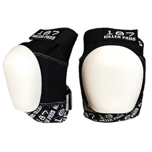 Image of 187 Pro Skateboard Knee Pads 2021 - X-Large in White