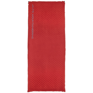 Image of Alps Mountaineering Apex Air Pad X-Large 2021 - X-Large in Red   Suede