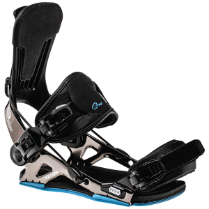 Image of GNU Freedom Snowboard Bindings 2022 - Large in Black | Aluminum