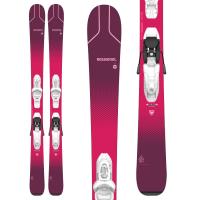 Kid's Rossignol Experience Pro W Skis + Kid X 4 GW BindingsLittle Girls' 2021 - 104 in White