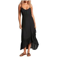 Women's Volcom That's My Type Maxi Dress 2021 - Small Black | Viscose