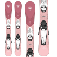 Kid's Rossignol Experience Pro W Skis + Team 4 GW BindingsLittle Girls' 2022 - 90
