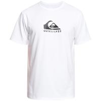Quiksilver Solid Streak Short Sleeve Surf T-Shirt 2021 - 2X-Large in Blue   Elastane/Polyester