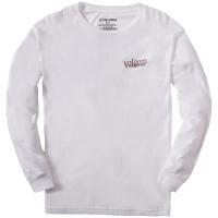 Volcom Burgoo Long-Sleeve T-Shirt 2021 - Medium White | Cotton