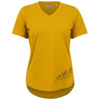 Women's Pearl Izumi Midland Graphic T-Shirt 2021 - Small in Yellow | Elastane/Polyester
