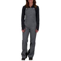Women's Obermeyer Malta Tall Bib Overalls 2022 - 14 Gray in Charcoal