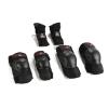Triple 8 Saver Series High Impact 3 Pack Adult Skateboard Pad Set