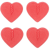 Crab Grab Mini Hearts Stomp Pad - 4 Pack