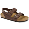 Birkenstock Milano Oiled Leather Soft Footbed Sandals