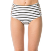Amuse Society Sola Stripe High Rise Bikini Bottoms - Women's