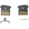 Shimano F01A Resin Disc Brake Pad w/ Fins