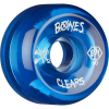 Bones SPF Clear 84b Skateboard Wheels