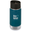 Klean Kanteen Wide Vacuum Insulated 12oz Bottle with Cafe Cap 2.0