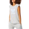 Adidas Originals Boyfriend Roll-Up Tee - Women's