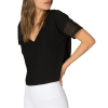 Beyond Yoga Lightweight V-Neck Cropped Tee - Women's