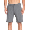 "Quiksilver Union Heather Amphibian 20"" Hybrid Shorts"