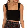 Amuse Society Easy Love Crop Tank Top - Women's