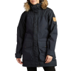 Women's Fjallraven Barents Parka Jacket 2019 in Navy Size Small   Polyster