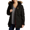 Women's Fjallraven Nuuk Parka Jacket 2019 - Small Black