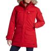 Women's Fjallraven Nuuk Parka Jacket 2019 - Small Red