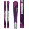 Kid's Rossignol Temptation Pro Skis + Kid X 4 BindingsGirls' 2018