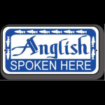 Wyoming Fly Fishing Anglish Spoken Here Fly Fishing Sign