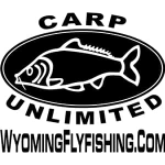 Wyoming Fly Fishing Carp Unlimited Fly Fishing Sticker