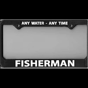License Plate Frame Fly Fishing