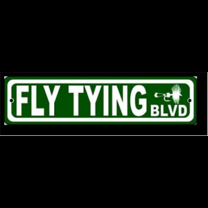 Fly Tying BLVD Sign