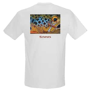 Platte River Fly Shop / Simms Custom Logo T-Shirt Closeout Sale