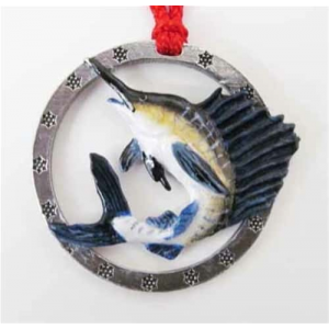 Premium Sailfish - Painted Ornament