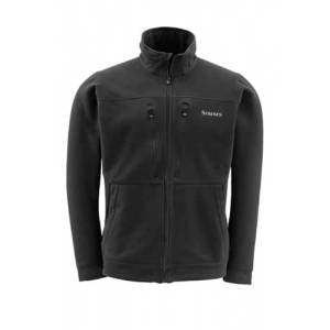 Simms ADL Fleece Jacket Small Black Closeout Sale